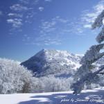 Veduta invernale di Serra delle Ciavole