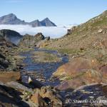 Letto di nuvole lungo il vallone di Salza