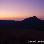 Monte Sellaro all'alba