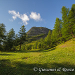 Il Mont Chétif da Pré de Pascal
