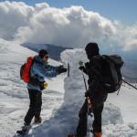 Grande difficoltà per liberare la stazione dal ghiaccio
