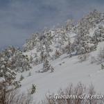 Loricati sulla spalla Est di Serra di Crispo