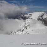 Dalla vetta del Dolcedorme guardando verso Monte Pollino