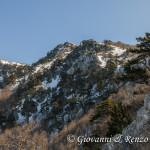 Versante ovest di Monte Pollino