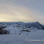 L'alba dietro Serra delle Ciavole