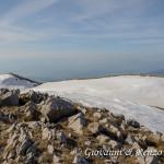 Dalla vetta di Monte Pollino veso il Nevaio