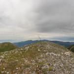 Panorama dalla vetta della Coppola di Paola