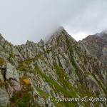 Sentiero sulla cresta di Monte Ignaga