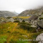Rifugio Prudenzini e la Val Salarno