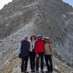 Al Passo Gole Larghe con Rosanna e Valerio