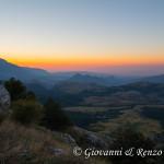 Alba sulla piana di Campotenese