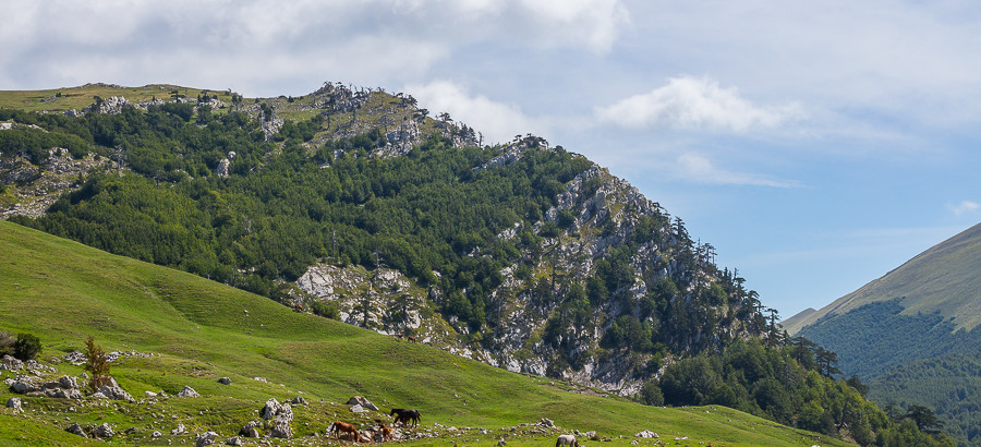 La cresta Ovest