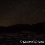 Serra del Prete sotto le stelle