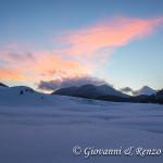Piano Ruggio e la Coppola di Paola al tramonto