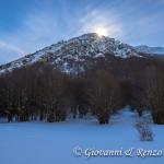 Monte Pollino da Colle Gaudolino