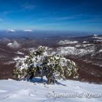 Panorama dalla cresta nord di Monte Pollino