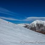 Monte Pollino dalla cresta est di Serra del Prete