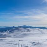 Panorama dalla vetta di Serra del Prete