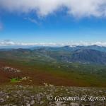 Dalla Cresta Est di Serra Dolcedorme verso la Valle del Raganello