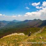 La cresta dell'Infinito e la valle del Raganello