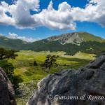 Monte Pollino dalla Piana del Pollino