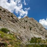 La parete Sud della Timpa Falconara