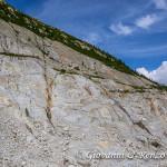Percorso attrezzato da Montenvers alla Mer de Glace