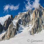Ai piedi del Mont Blanc du Tacul