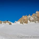 Il Refuge des Cosmiques e l'Aiguille du Midi