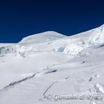 Salutiamo la cima del Monte Bianco