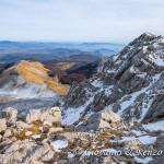Il Monte Miele e la cima del Monte Meta