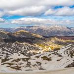 Panorama dalla vetta del Monte Tartaro
