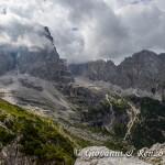 Panorama dal Rifugio Ai Brentei