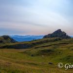 Il Pian della Nana delimitato dal Monte Pellerot il Castellazzo e Cima Vallina