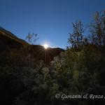 Il sole illumina la Val Fondillo