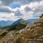 La Timpa di san Lorenzo dalla cresta della Falconara