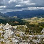 L'alta valle del Raganello dalla Falconara