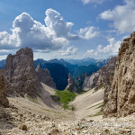 Val Montanaia con il suo celebre Campanile