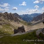 Val Monfalcon di Forni dalla Forcella omonima