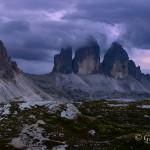 Il Monte Paterno e le Tre Cime di Lavaredo
