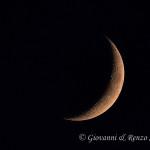 Uno spicchio di luna