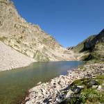 Il colletto del Valasco dal lago di Fremamorta