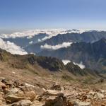Panorama dalla cima sud dell'Argentera