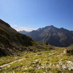 Il Monte Gelas dal Colle di Fenestrelle