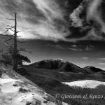 Piano Iannace e Serra del Prete dalla cresta NO di Serra di Crispo
