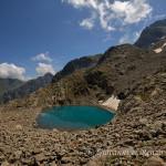 Lago blu del Gelàs