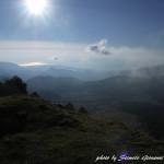 Paesaggio sulla piana di Campotenese