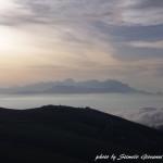 Vista sui monti abruzzesi