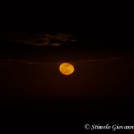 Luna piena sullo Ionio