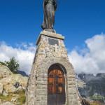 Madonnina in vetta al Mont Chétif
